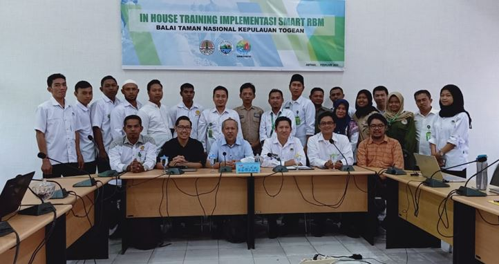 In House Training Implementasi SMART RBM  Balai TN Kepulauan Togean